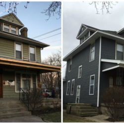 Manley Front Before and After