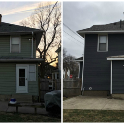 Manley Side Before and After