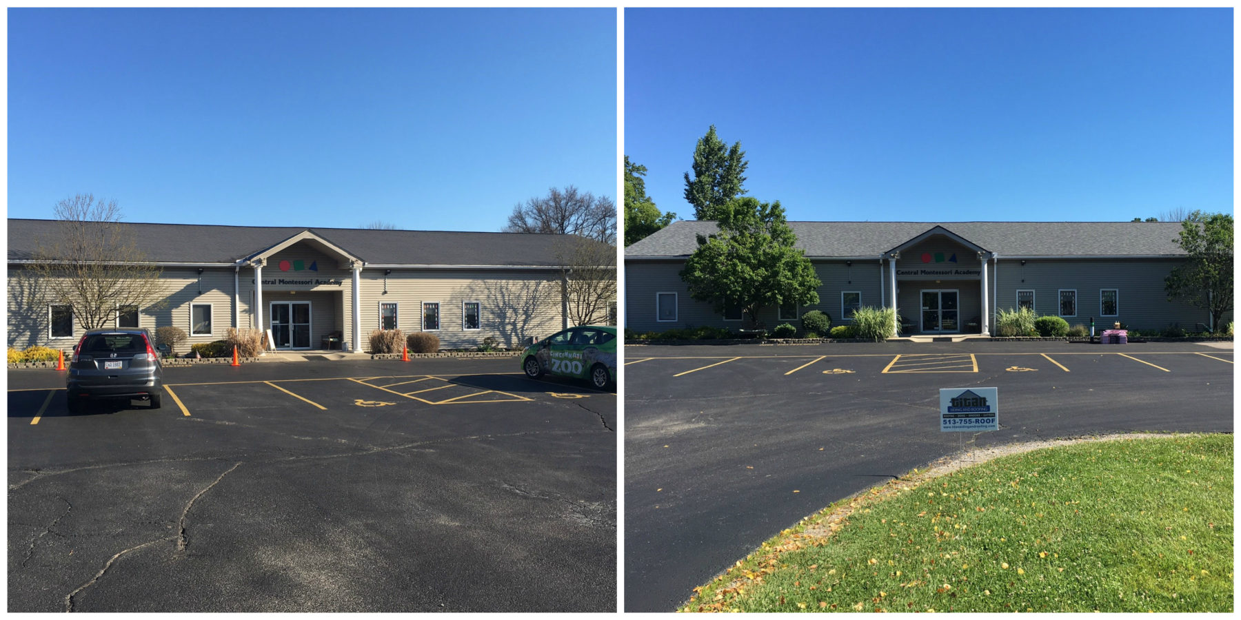 Montessori before and after